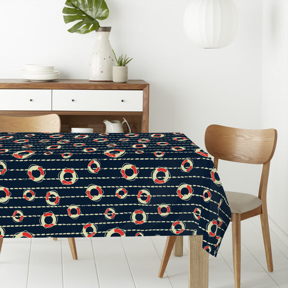 Life Buoy Rectangle Tablecloths
