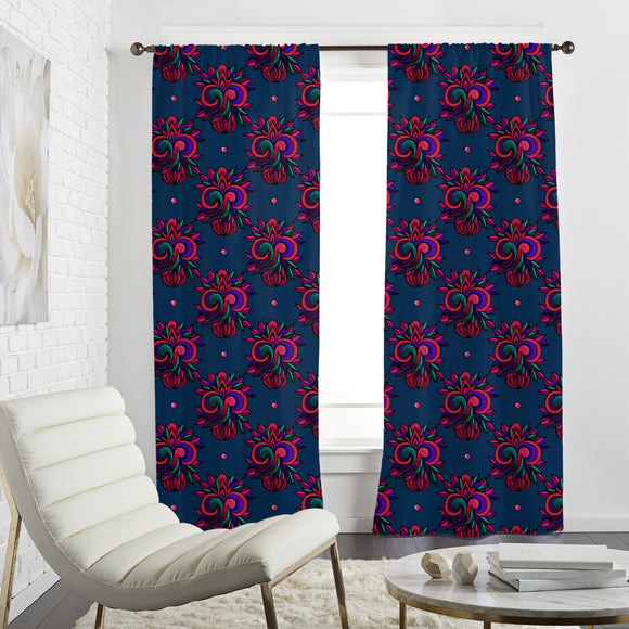 Fantasy-Embroidery Curtains