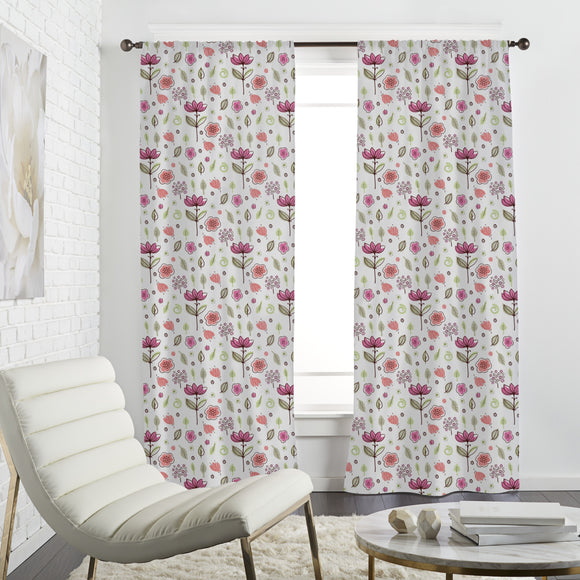 Nice Blossoms Curtains