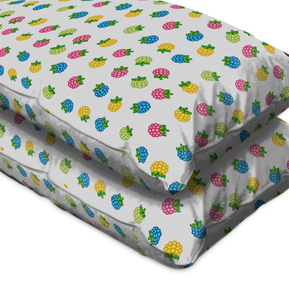 Ripe Raspberries Pillow Case