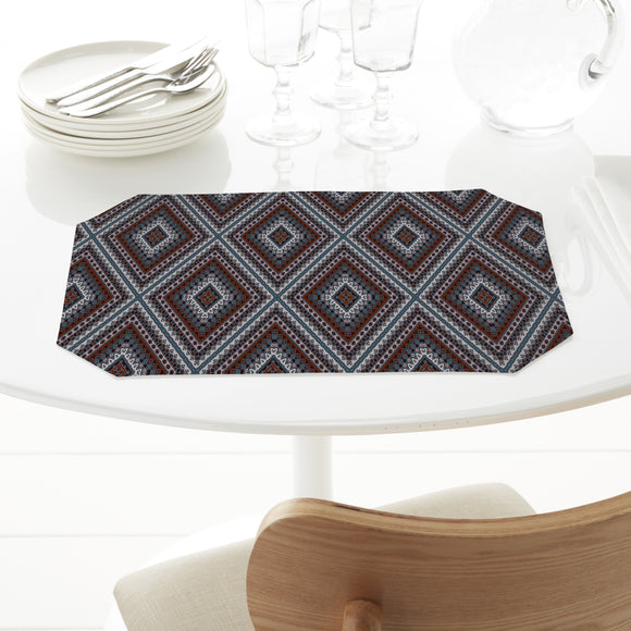 Amply Embellished Rhombus Placemats