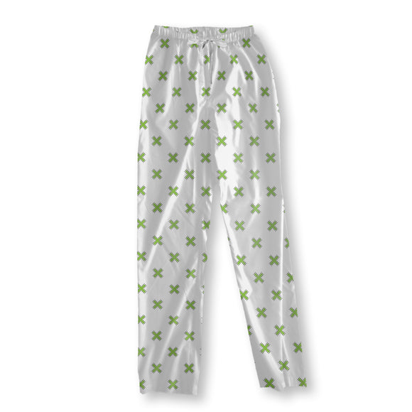 Cross With Border Pajama Pants