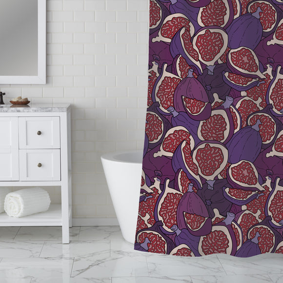 Figs Over Figs Shower Curtain