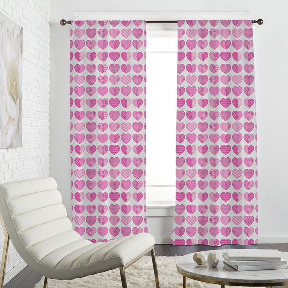In Love With A Heartbreaker Curtains