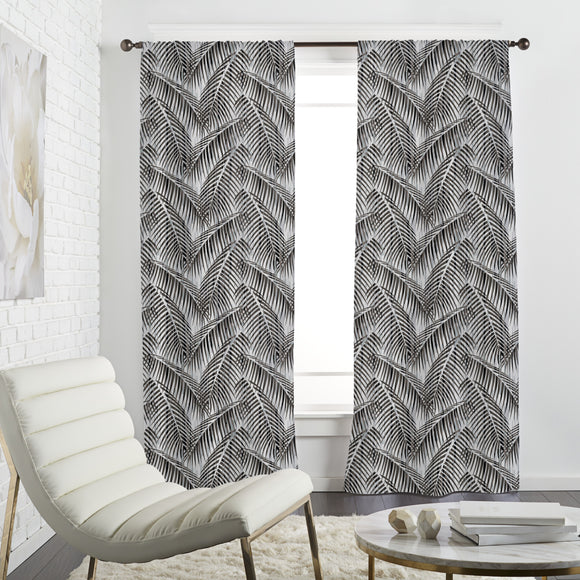 Modern Fronds Curtains