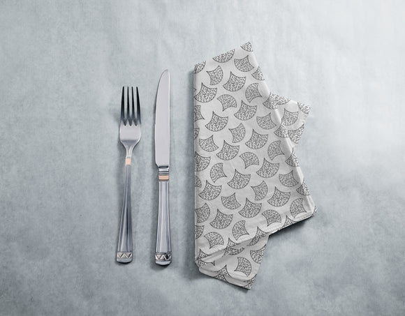 Abstract Scales Of A Fish Napkins