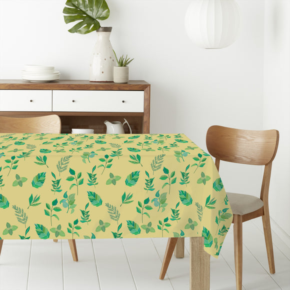 A Lil Bit Spring Rectangle Tablecloths