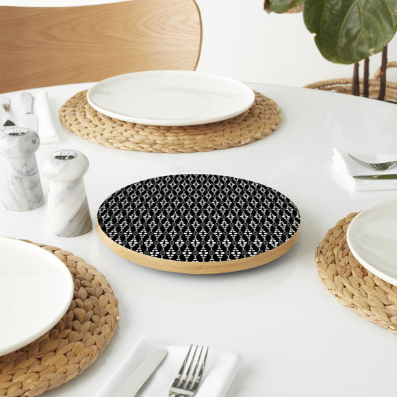 Dottore Black Lazy Susan