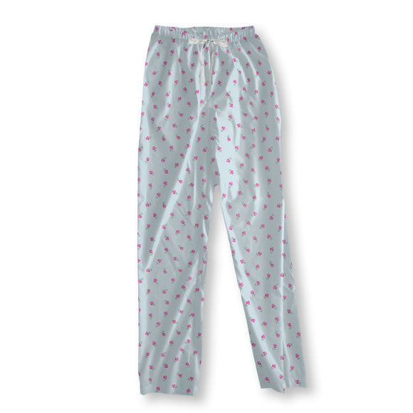Rain Of Roses Pajama Pants
