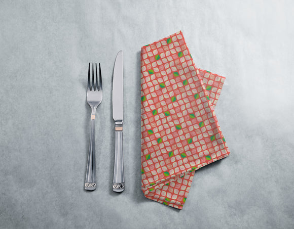 Abstract Retro-Flowers Placemats