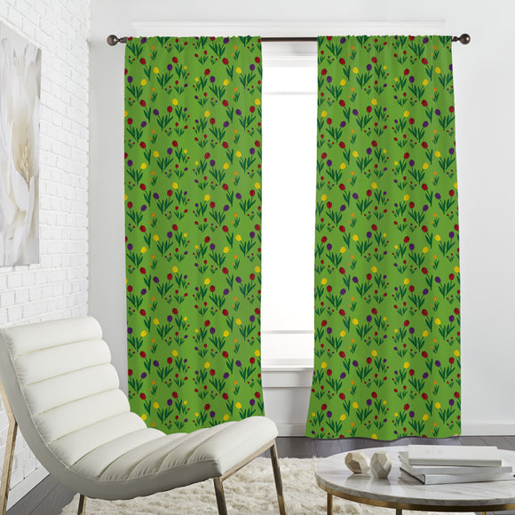Tulips Meadow Curtains