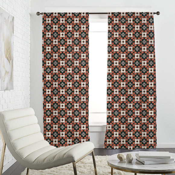 Ethno Shields Curtains