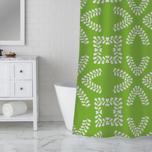 Dancing Twigs Shower Curtain