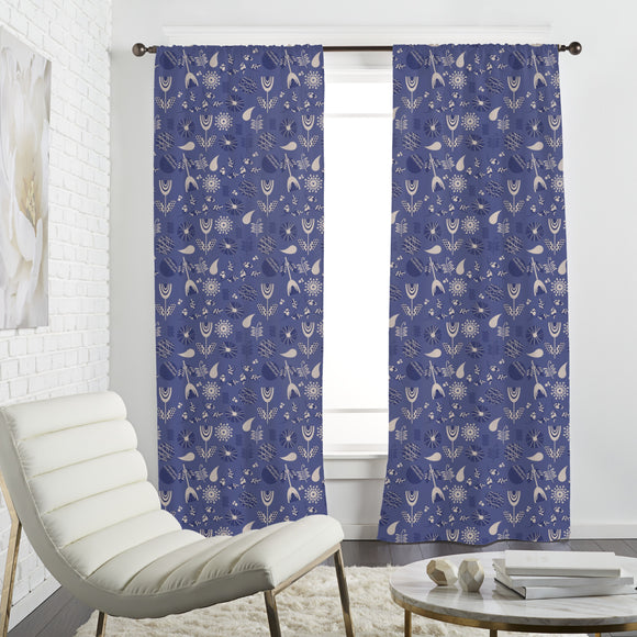 Seventies Flower Remix Curtains