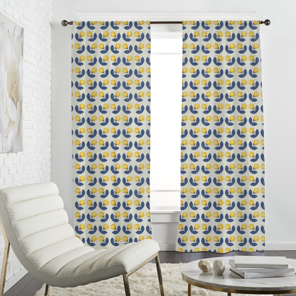 Light Flower Curtains