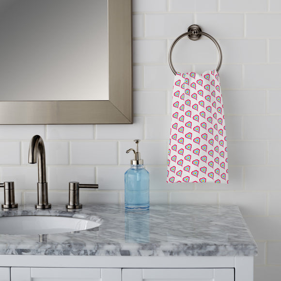Hearts On Fire Hand Towel