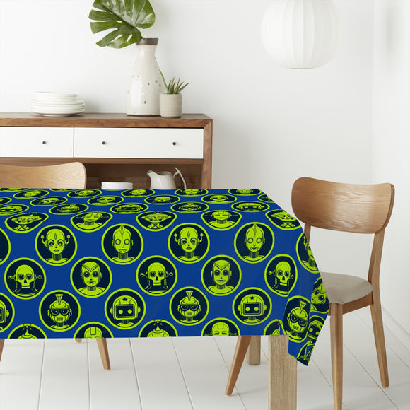 Robot Gang Rectangle Tablecloths
