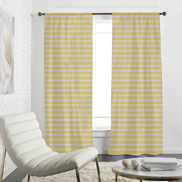Splashes  And Stripes Curtains