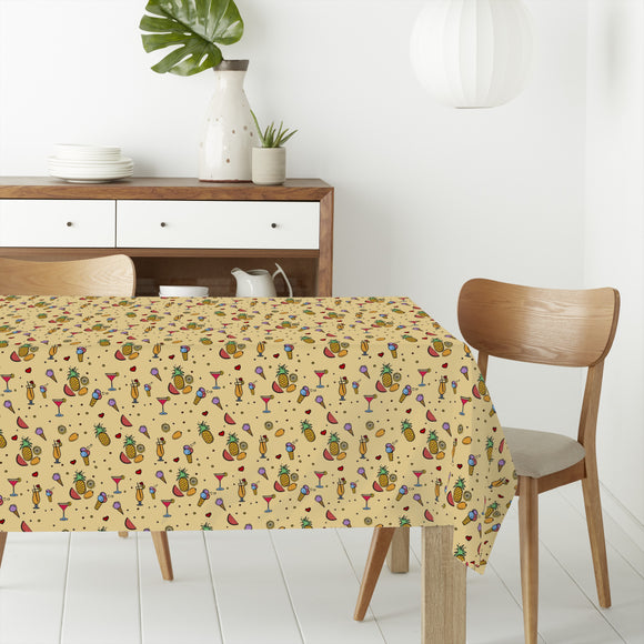 Tasty Summer Rectangle Tablecloths