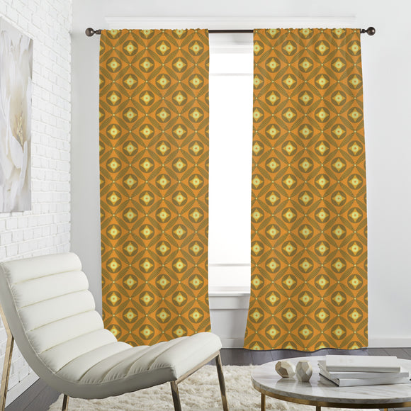 Retro Diamond Curtains