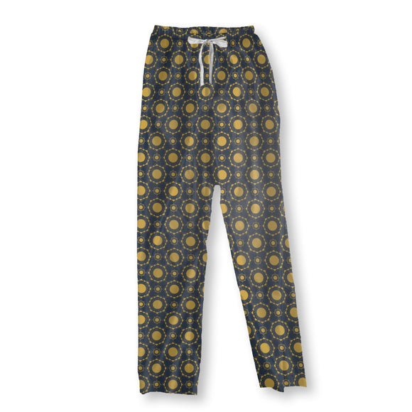 Art Deco Suns Pajama Pants