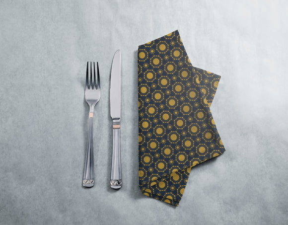 Art Deco Suns Napkins
