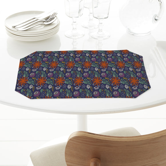 Backyard Flowers Placemats