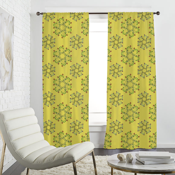 Magic Flowers Curtains