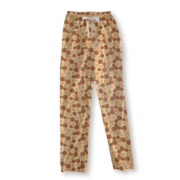 Furry Cheetah Dots Pajama Pants