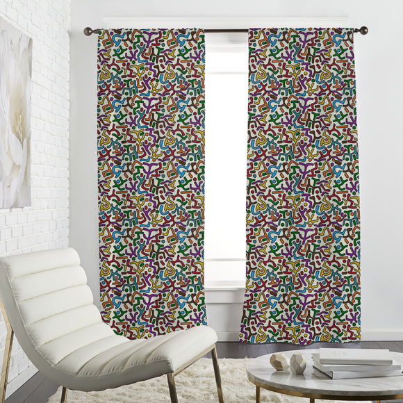 African Ethno Curtains