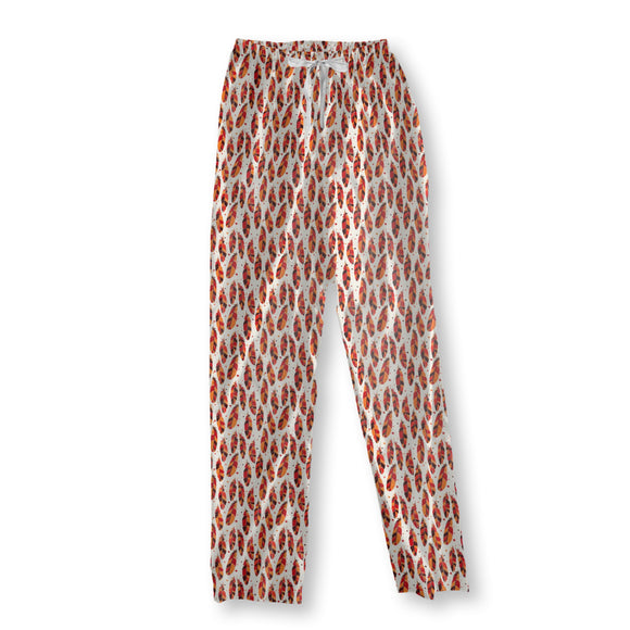 Boho Feathers Pajama Pants