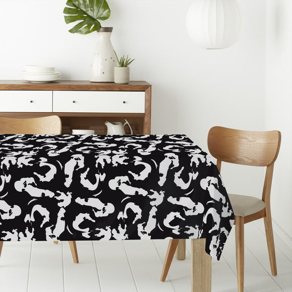 Simple Brush Strokes Rectangle Tablecloths
