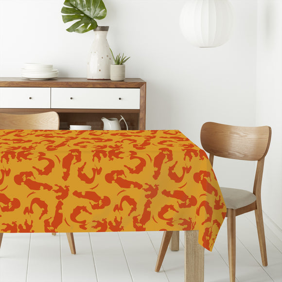 Intuitive Brush Strokes Rectangle Tablecloths