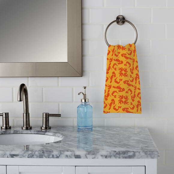 Intuitive Brush Strokes Hand Towel