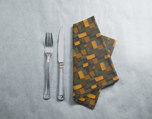 Abstract Rivers and Fields Napkins
