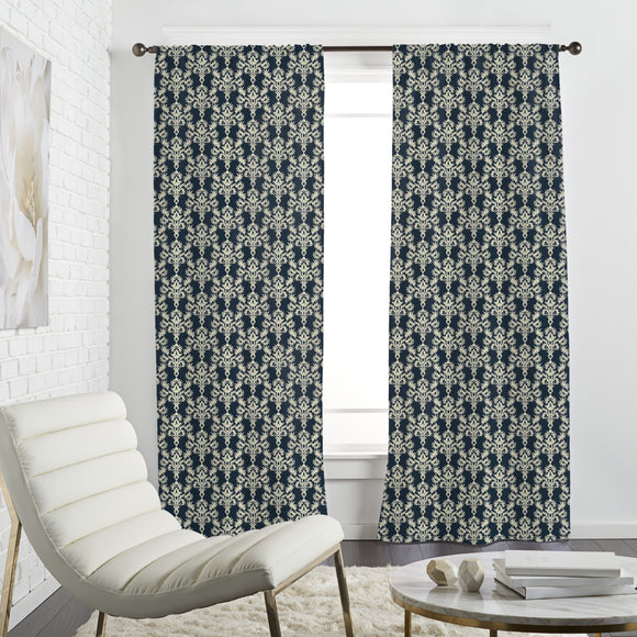 Floral Ornament Curtains