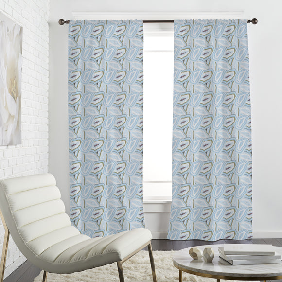 Sparkle Agate stones Curtains