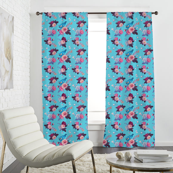 Spring Bloom Curtains