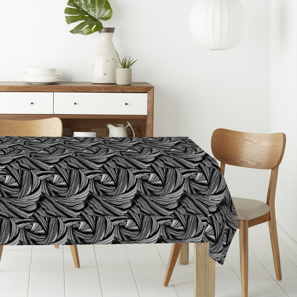 Doodle Style Rectangle Tablecloths