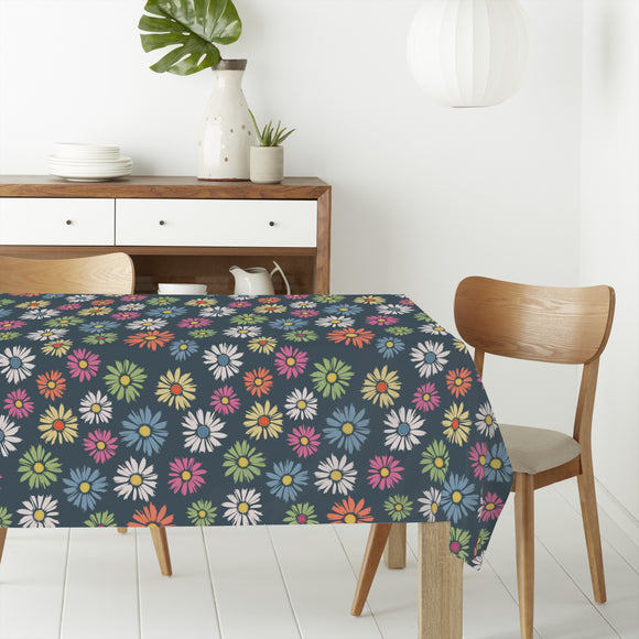 Daisies Meadow Rectangle Tablecloths