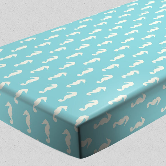 Seahorses Fitted Sheets