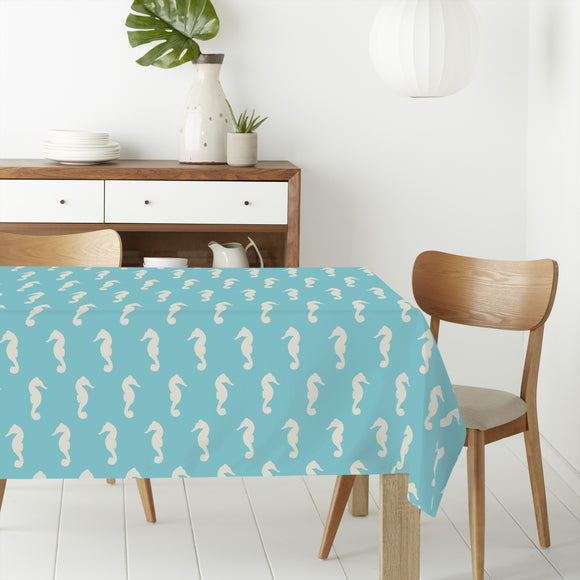 Seahorses Rectangle Tablecloths