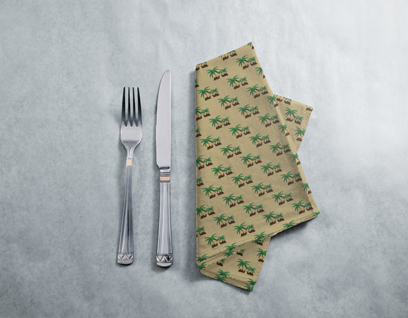 Camels in an Oasis Napkins