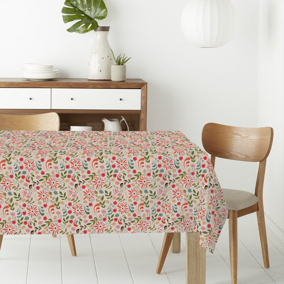 A Summer Paradise Rectangle Tablecloths