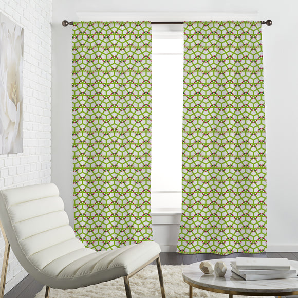 Angular Waves At Grit Curtains