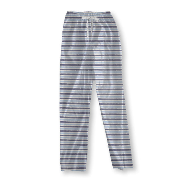 Continuous Brushstrokes Pajama Pants