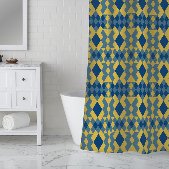 Ethno X Shower Curtain