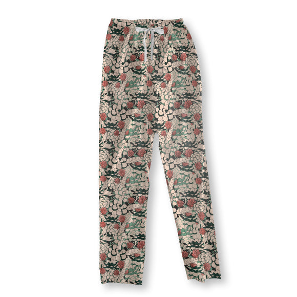 Tropical Succulent Pajama Pants