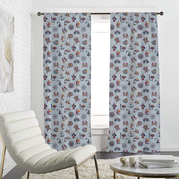 Across The Ocean Curtains