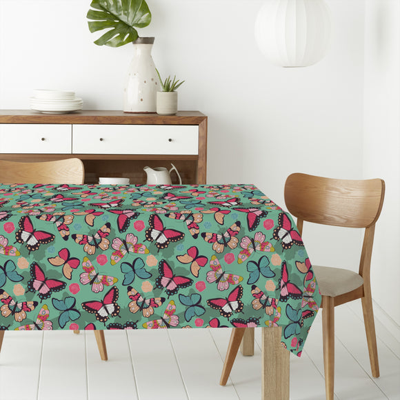 Butterflies With Shadows Rectangle Tablecloths
